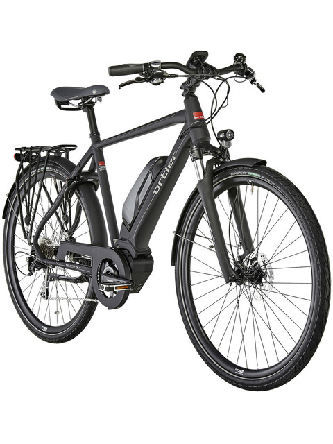 Ortler Montana Eco - Vélo de trekking électrique - noir